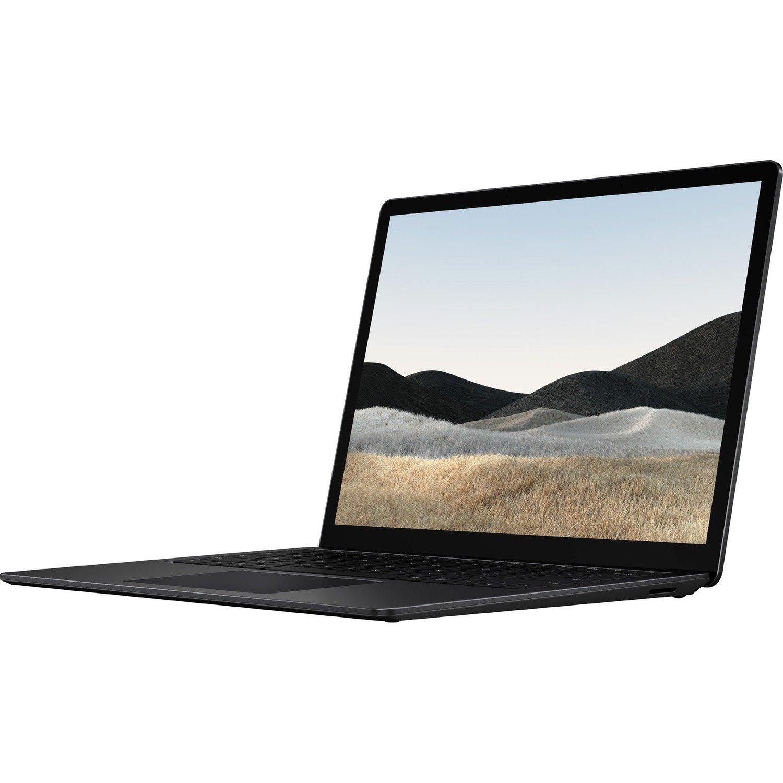 "Microsoft Surface Laptop 4 34.3 cm (13.5"") Touchscreen Notebook - 2256 x 1504 - Intel Core i5 (11th Gen) - 8 GB RAM - 256 GB SSD - Matte Black"
