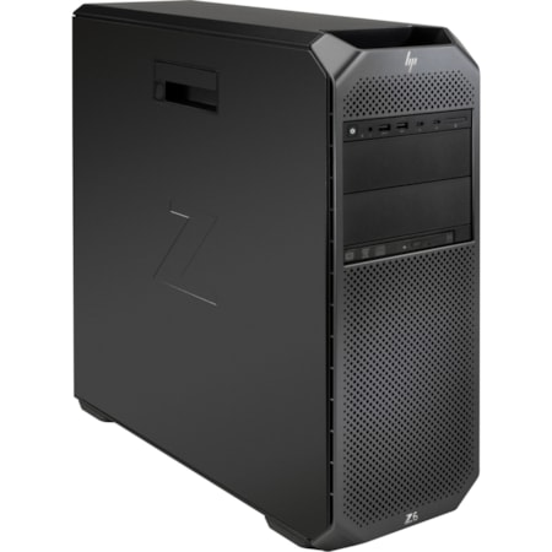 HP Z6 G4 Workstation - Intel Xeon Silver Dodeca-core (12 Core) 4214 2.20 GHz - 32 GB DDR4 SDRAM RAM - 2 TB HDD - 1 TB SSD - Mini-tower - Black