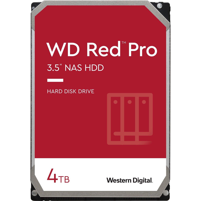 """WD Red Pro WD4003FFBX 4 TB Hard Drive - 3.5"""" Internal - SATA (SATA/600)"""