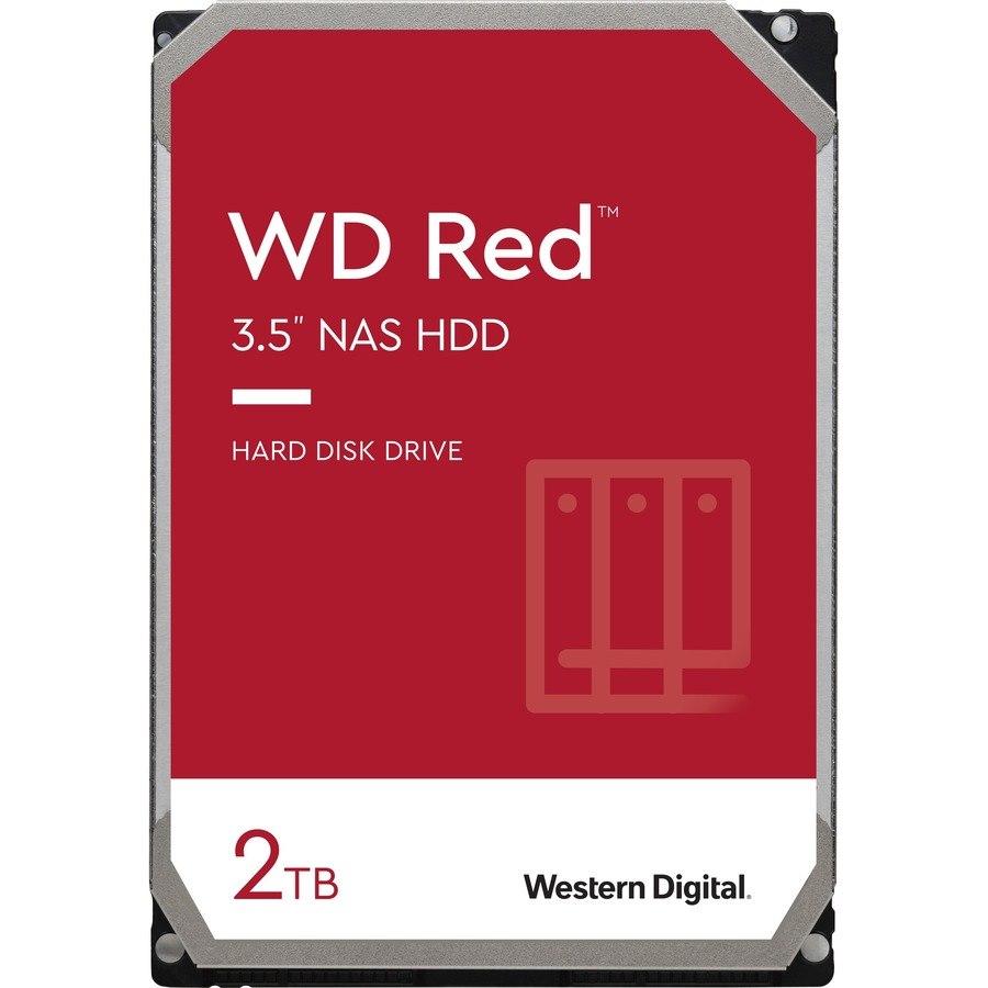 """WD Red WD20EFAX 2 TB Hard Drive - 3.5"""" Internal - SATA (SATA/600)"""
