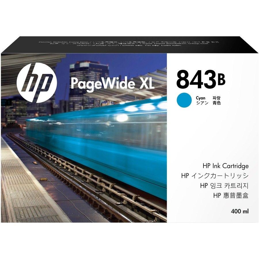 HP 843B Original Ink Cartridge - Cyan