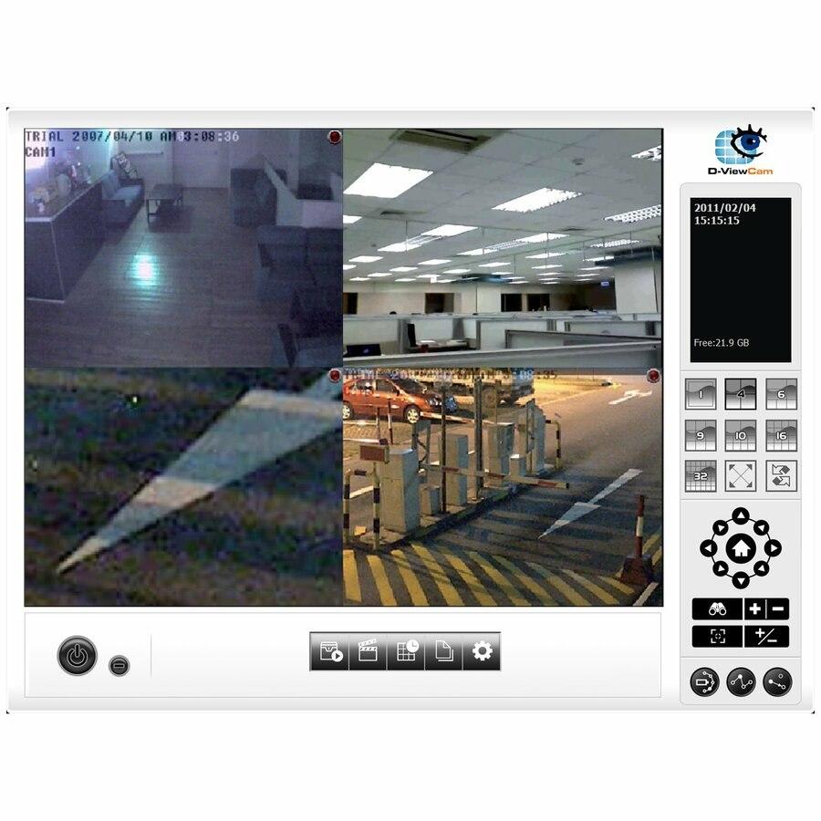 D-Link DCS-210 D-ViewCam Standard - 8 Channel License
