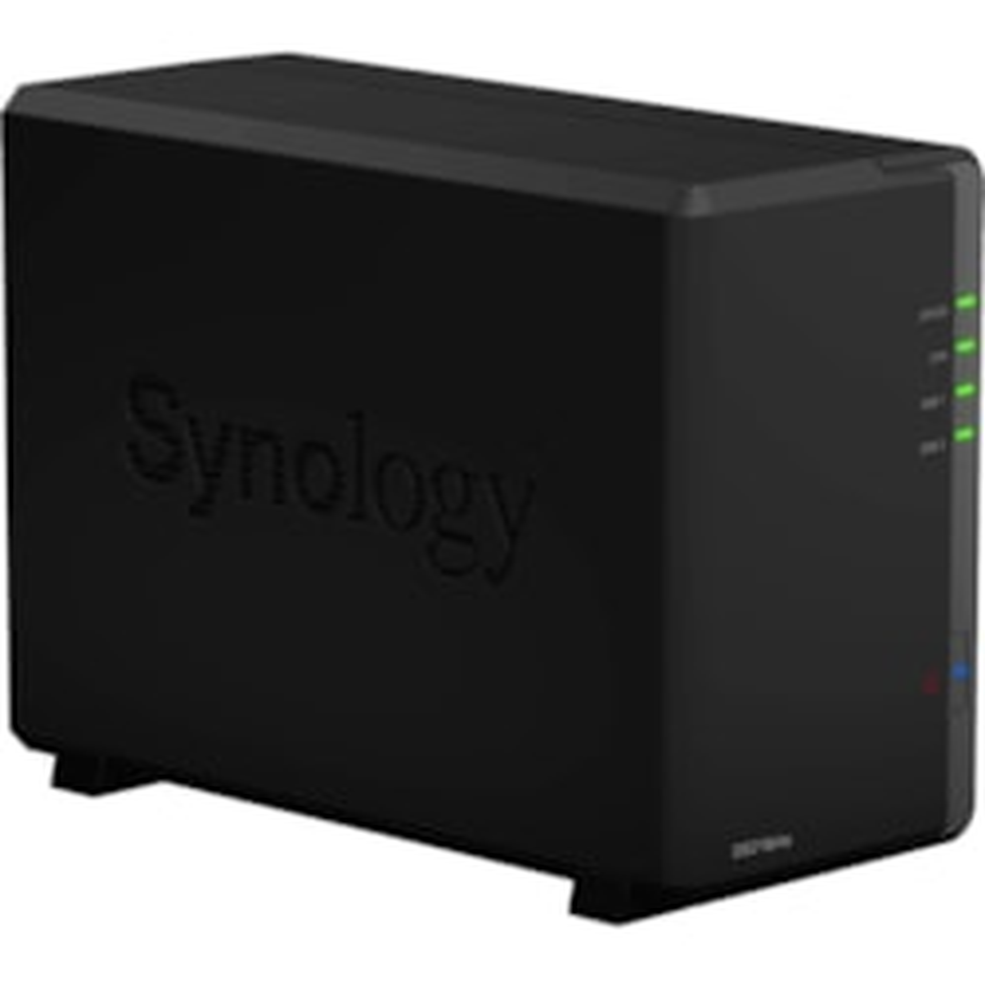 Synology DiskStation DS218play 2 x Total Bays SAN/NAS Storage System - Realtek Quad-core (4 Core) 1.40 GHz - 1 GB RAM - DDR4 SDRAM Desktop