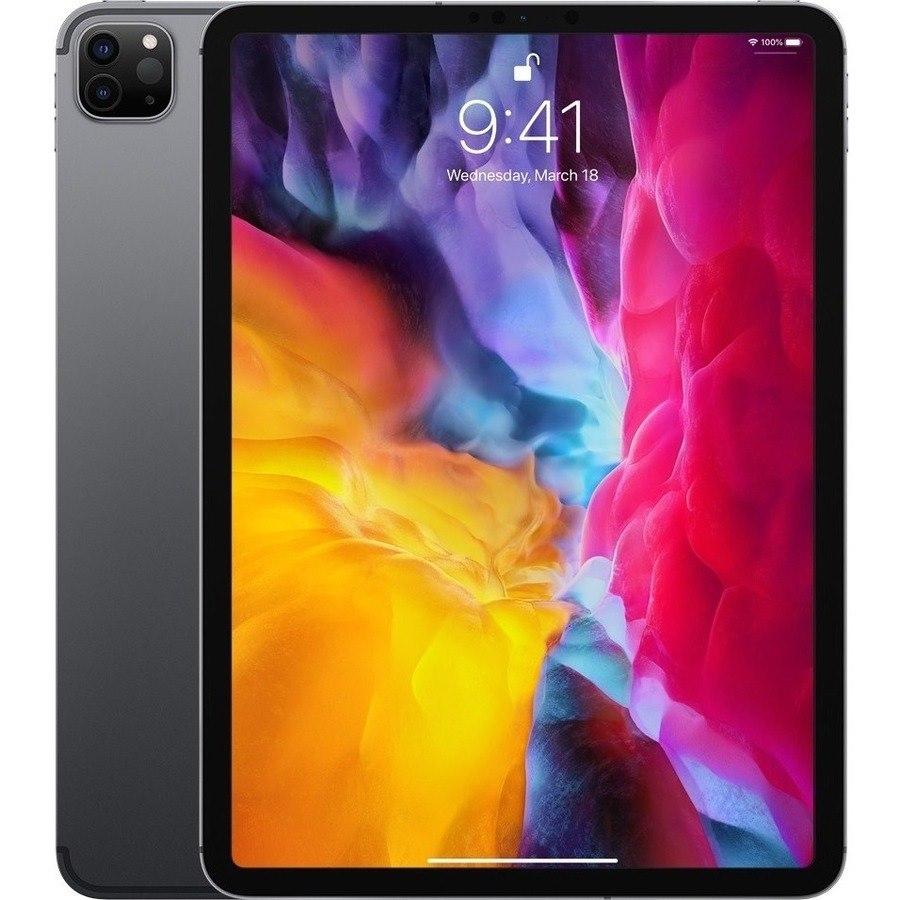 "Apple iPad Pro (4th Generation) Tablet - 27.9 cm (11"") - 256 GB Storage - iPad OS - 4G - Space Gray"