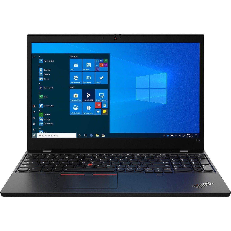 """Lenovo ThinkPad L15 Gen1 20U30014AU 39.6 cm (15.6"""") Notebook - Full HD - 1920 x 1080 - Intel Core i7 (10th Gen) i7-10510U Quad-core (4 Core) 1.80 GHz - 16 GB RAM - 512 GB SSD - Black"""