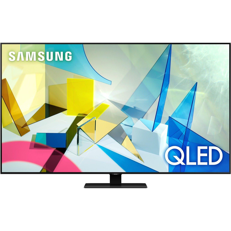 "Samsung Q80T QN50Q80TAF 49.5"" Smart LED-LCD TV - 4K UHDTV - Titan Black"