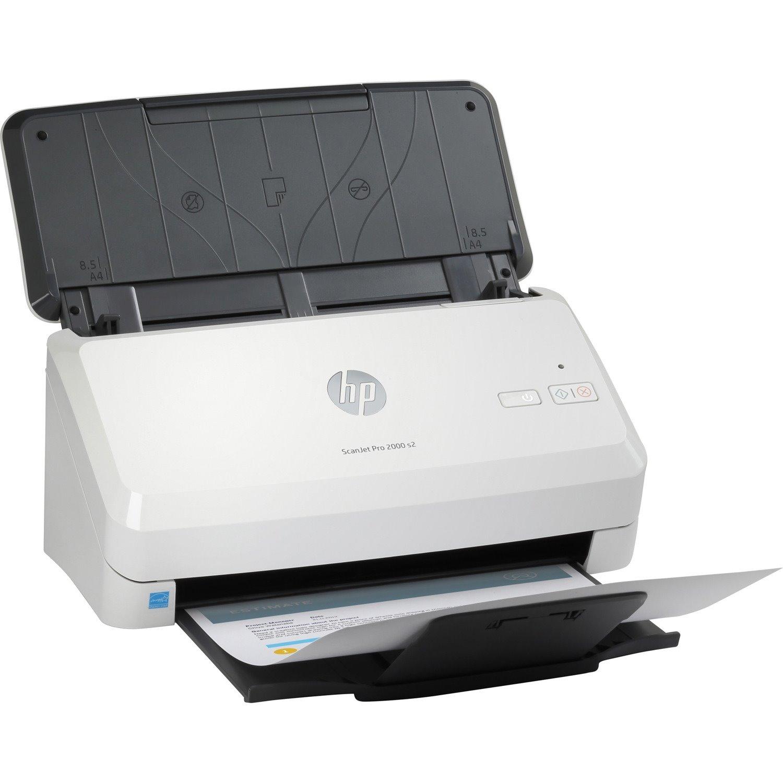 HP ScanJet Pro 2000 s2 Sheetfed Scanner - 600 dpi Optical