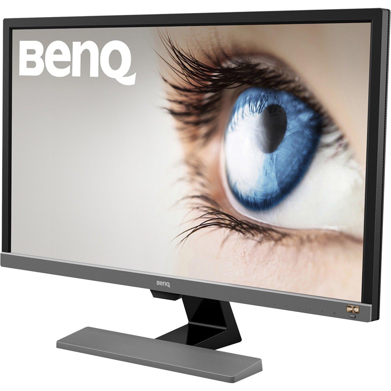 """BenQ EL2870U 70.9 cm (27.9"""") 4K UHD LED Gaming LCD Monitor - 16:9 - Metallic Grey"""
