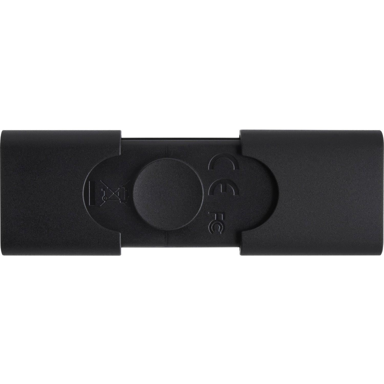 Kingston DataTraveler Duo 64 GB USB 3.2 (Gen 1) Type A, USB 3.2 (Gen 1) Type C Flash Drive - Black
