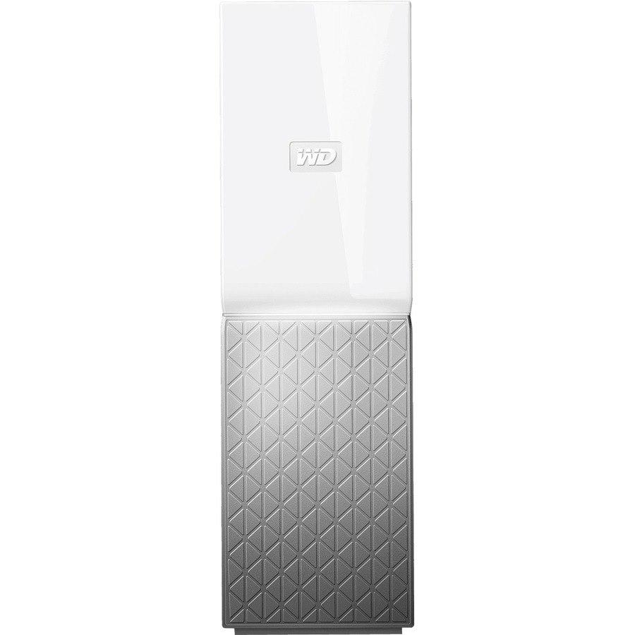 WD My Cloud Home WDBVXC0030HWT-SESN 1 x Total Bays NAS Storage System - 3 TB HDD - Realtek RTD1295 Quad-core (4 Core) 1.40 GHz - 1 GB RAM - DDR3L SDRAM
