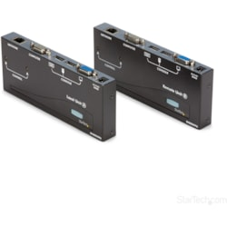 StarTech.com SV565UTPU Analog KVM Console/Extender - Wired - TAA Compliant