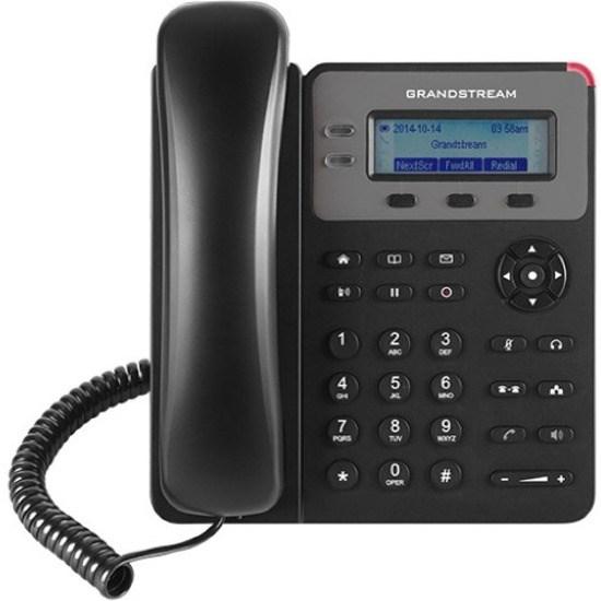 Grandstream GXP-1615 IP Phone - Corded - Wall Mountable - Black