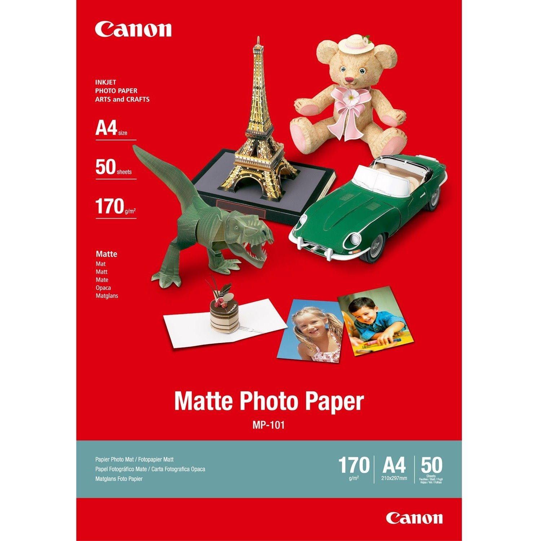 Canon MP-101 Inkjet Photo Paper - Matte Clear