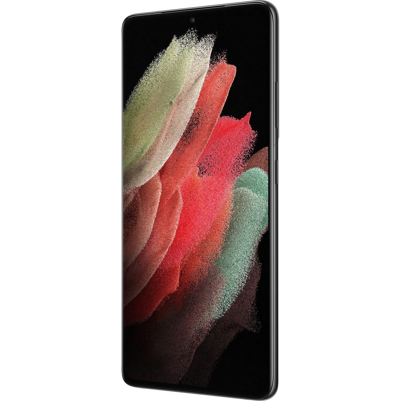 "Samsung Galaxy S21 Ultra 5G SM-G998B 256 GB Smartphone - 17.3 cm (6.8"") Dynamic AMOLED QHD+ 3200 x 1440 - Cortex X1Single-core (1 Core) 2.90 GHz + Cortex A78 Triple-core (3 Core) 2.80 GHz + Cortex A55 Quad-core (4 Core) 2.20 GHz) - 12 GB RAM - Android 11 - 5G - Phantom Black"