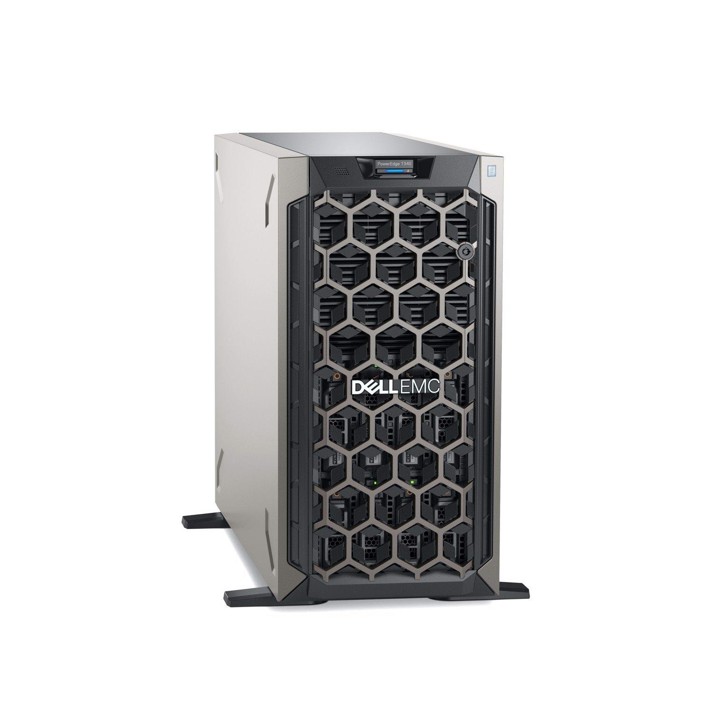 Dell EMC PowerEdge T340 Tower Server - 1 x Intel Xeon E-2224 3.40 GHz - 8 GB RAM - 1 TB HDD - Serial ATA, 12Gb/s SAS Controller