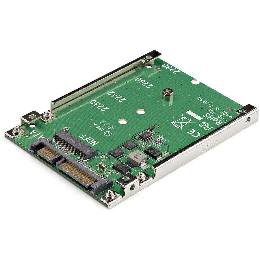 "StarTech.com Drive Bay Adapter for 2.5"" - Serial ATA/600 Host Interface Internal - TAA Compliant"