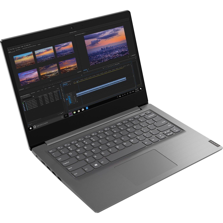 """Lenovo V14-IIL 82C401KAAU 35.6 cm (14"""") Notebook - Full HD - 1920 x 1080 - Intel Core i5 (10th Gen) i5-1035G1 Quad-core (4 Core) 1 GHz - 8 GB RAM - 256 GB SSD - Grey"""