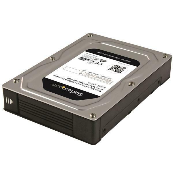 StarTech.com 2 x Total Bays DAS Storage System Internal