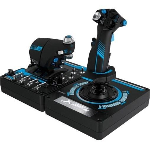 Logitech H.O.T.A.S. X56 Gaming Throttle, Gaming Joystick
