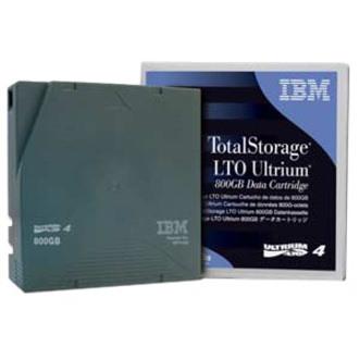 IBM LTO Ultrium 4 Labeled Tape Cartridge