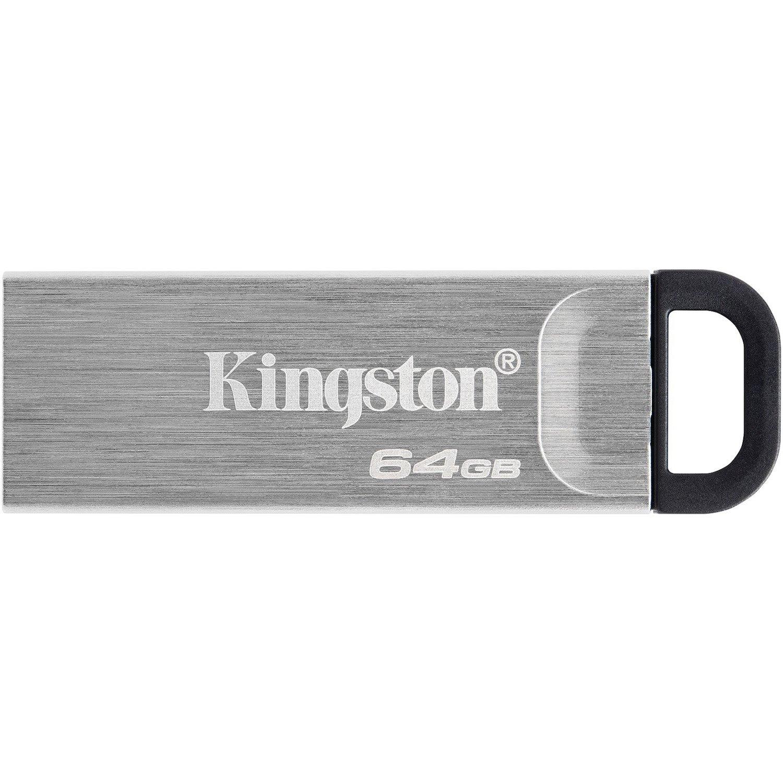 Kingston DataTraveler Kyson 64 GB USB 3.2 (Gen 1) Type A Flash Drive - Silver