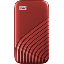SanDisk My Passport WDBAGF5000ARD-WESN 500 GB Portable Solid State Drive - External - Red