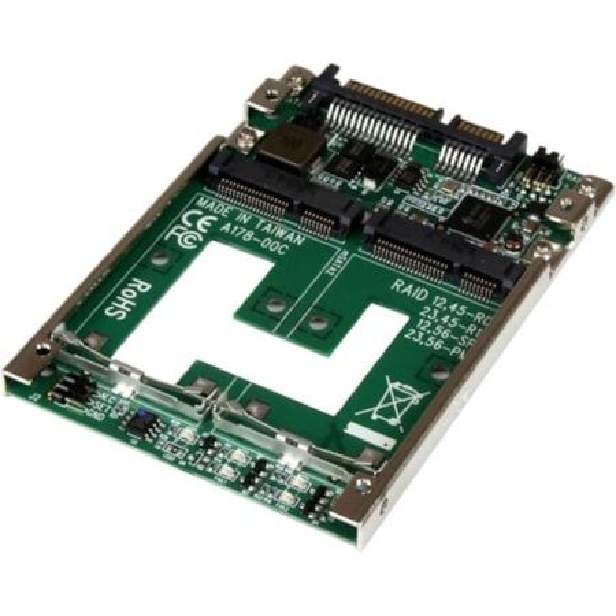 StarTech.com 2 x Total Bays DAS Storage System Internal - TAA Compliant