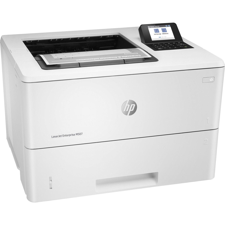 HP LaserJet Enterprise M507 M507dn Desktop Laser Printer - Monochrome