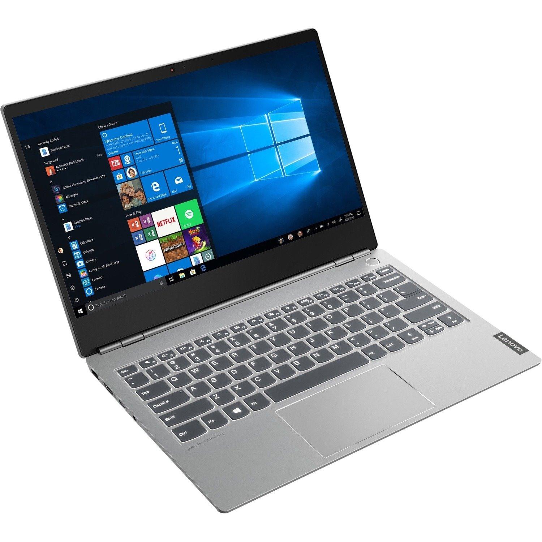 "Lenovo ThinkBook 13s-IML 20RR005LAU 33.8 cm (13.3"") Notebook - 1920 x 1080 - Intel Core i7 10th Gen i7-10510U Quad-core (4 Core) 1.80 GHz - 16 GB RAM - 256 GB SSD - Mineral Gray"