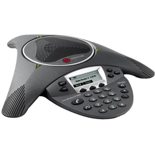 Poly SoundStation IP 6000 IP Conference Station - Corded - Black