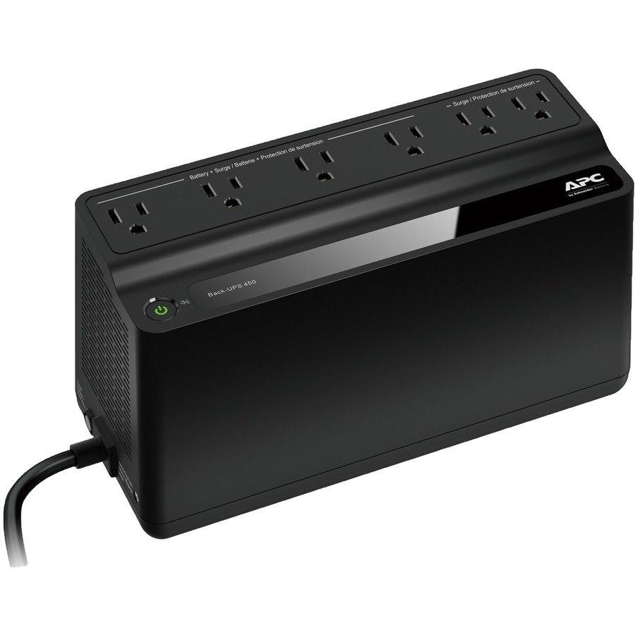 APC by Schneider Electric Back-UPS 450VA UPS