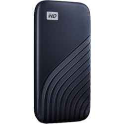 WD My Passport WDBAGF5000ABL-WESN 500 GB Portable Solid State Drive - External - Midnight Blue