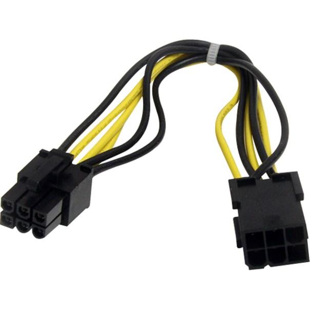 StarTech.com Power Extension Cord - 20.32 cm
