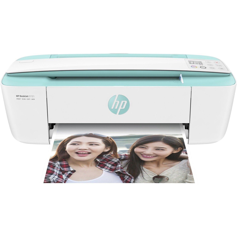 HP Deskjet 3721 Wireless Inkjet Multifunction Printer - Colour