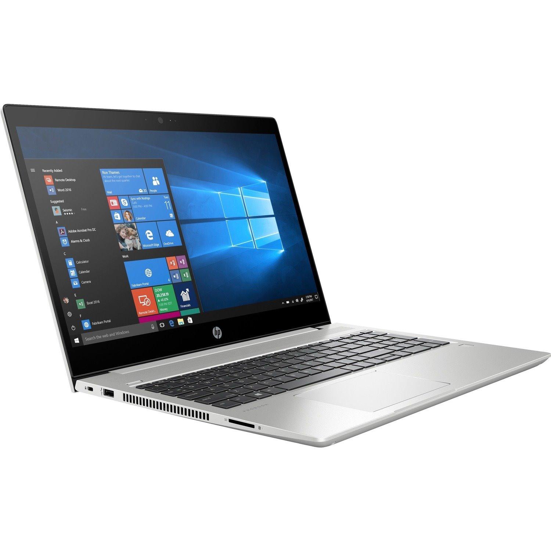 HP probook 450 G7 Laptop, Silver, Intel Core i5-10210U, 8 Gig ram, 256  GB SSD Nvme, 15.6 FHD IPS screen.