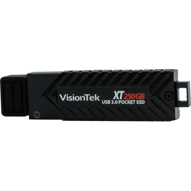 VisionTek 250GB XT USB 3.0 Pocket Solid State Drive