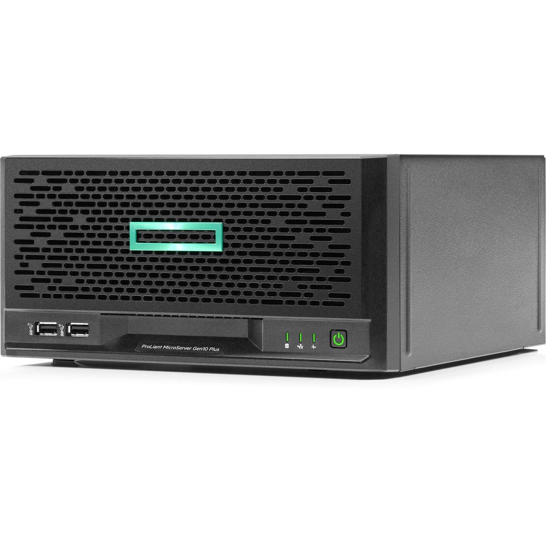 HPE ProLiant MicroServer Gen10 Plus Ultra Micro Tower Server - 1 x Intel Xeon E-2224 3.40 GHz - 16 GB RAM - 1 TB HDD - Serial ATA/600 Controller