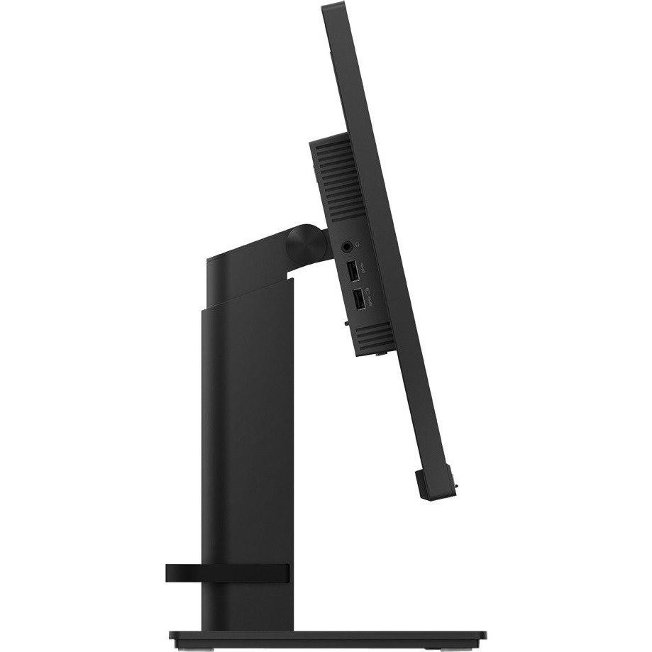 """Lenovo ThinkVision T24i-20 60.5 cm (23.8"""") Full HD WLED LCD Monitor - 16:9 - Raven Black"""