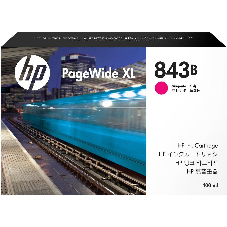 HP 843B Original Ink Cartridge - Magenta