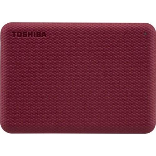 "Toshiba Canvio Advance 4 TB Hard Drive - 2.5"" External - Red"