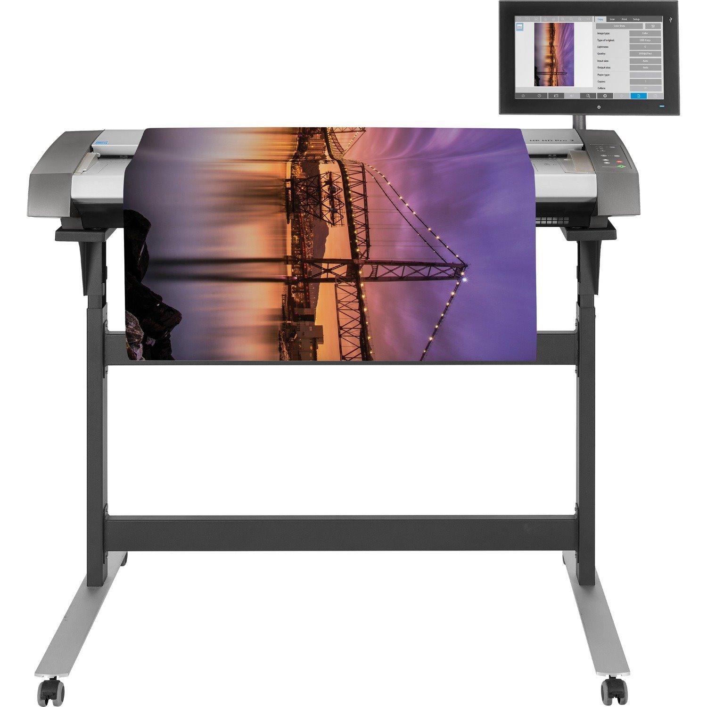 HP HD Pro 2 Large Format Sheetfed Scanner - 1200 dpi Optical