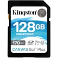 Kingston Canvas Go! Plus 128 GB Class 10/UHS-I (U3) SDXC