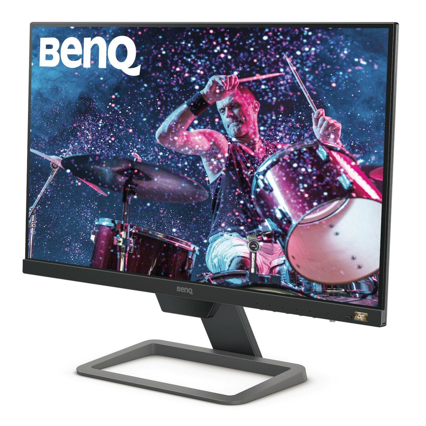 "BenQ EW2480 60.5 cm (23.8"") Full HD LED Gaming LCD Monitor - 16:9 - Black, Metallic Grey"