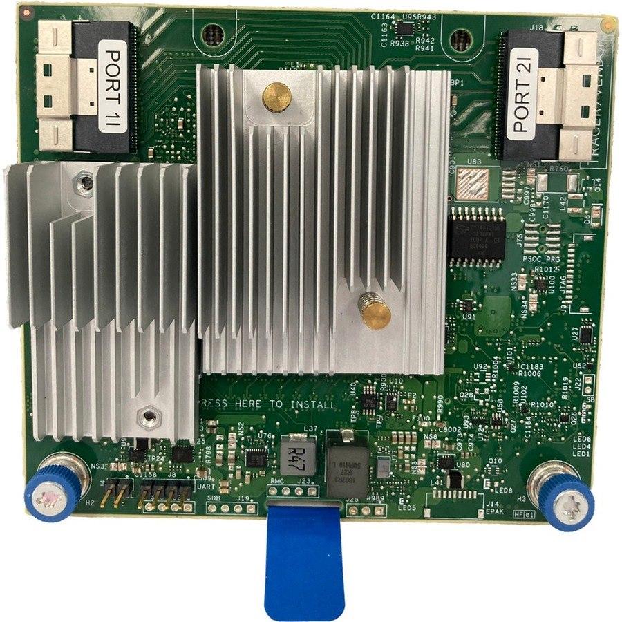 HPE MegaRAID MR416i-a SAS Controller - 12Gb/s SAS - PCI Express 4.0 x16 - 4 GB - Plug-in Module