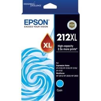 Epson 212XL Original Ink Cartridge - Cyan