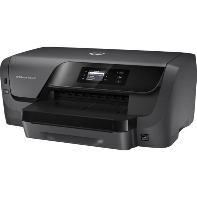 HP Officejet Pro 8210 Desktop Inkjet Printer - Colour