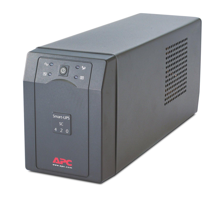 APC by Schneider Electric Smart-UPS Line-interactive UPS - 420 VA/260 W