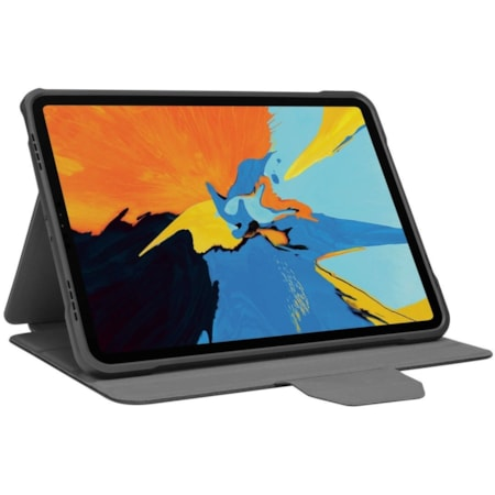 """Targus Click-In THZ865GL Carrying Case (Flip) for 27.7 cm (10.9"""") to 27.9 cm (11"""") Apple iPad Air (4th Generation), iPad Pro, iPad Pro (2017) Tablet - Black"""