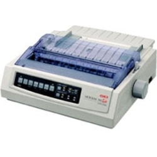 Oki MICROLINE ML390 24-pin Dot Matrix Printer - Monochrome - Energy Star