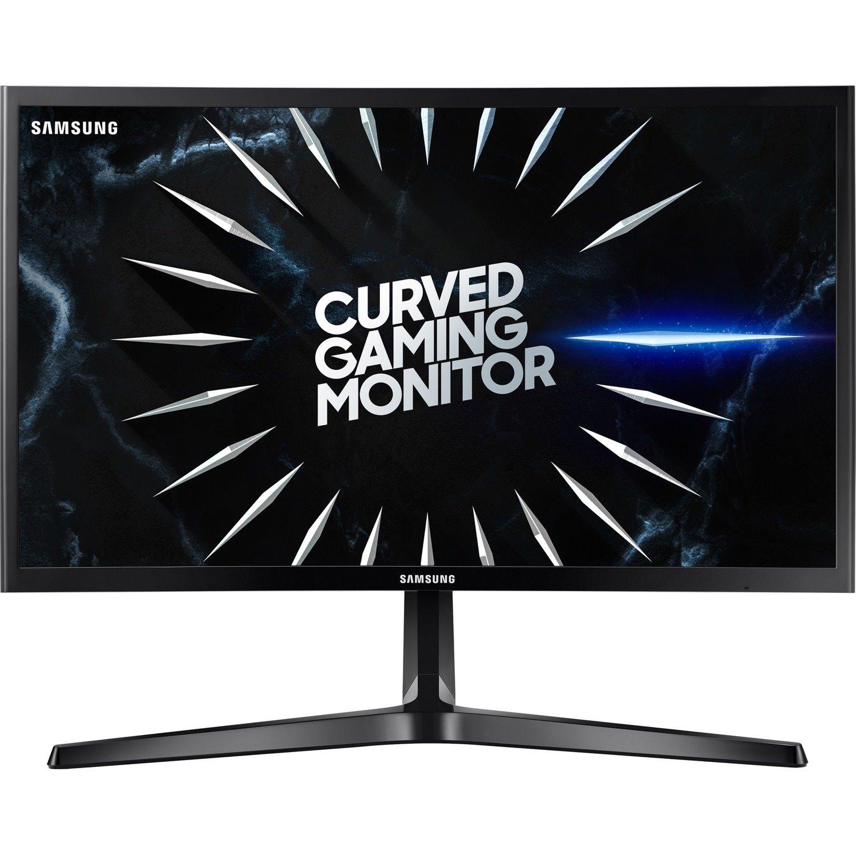 "Samsung Gaming C24RG50FQE 59.7 cm (23.5"") Full HD Curved Screen Gaming LCD Monitor - 16:9 - Black"